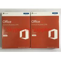 Buy Genuine Microsoft Office Home And Business 2016 For Mac 32 / 64 Bit COA Sticker at wholesale prices