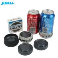 Quality Portable Round Custom Gel Can Cooler Holder with Environment HDPE Materials for sale