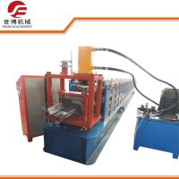 China Steel Frame C Channel Roll Forming Machine , Z Purlin Forming Machine For Structure Building on sale