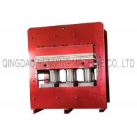 Buy PLC Automatic Control 800T Rubber Vulcanizing Press Machine 2000 * 1200mm Heating Plate Size at wholesale prices