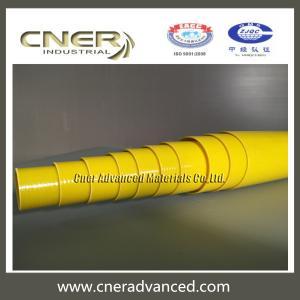 Quality Insulated fiberglass telescopic pole 50 feet for glass washing, rescue pole, fibreglass warning pole for sale