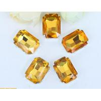 China rhinestone claws setting Glass beads jewelrys setting for sew on on sale