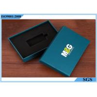 Quality Key Packing Rigid Gift Boxes , Rectangle Decorative Gift Boxes With Lids for sale