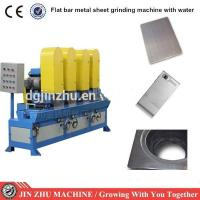 Quality Wide Abrasive Belt Hairline Finishing Machine Easy Opration For Metal Sheet for sale