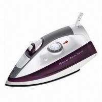 China Steam Iron with 1600 to 2200W, 220 to 240V, 50/60Hz Power Supply on sale