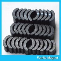 Quality Powerful Ceramic Ferrite Arc Magnet Sintered Permanent Magnets Customized for sale