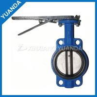 Quality PTFE lined butterfly valve price for sale