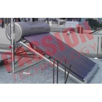 Quality CE Approved Vacuum Tube Solar Water Heater Open Loop with Assistant Tank for sale