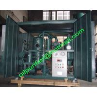 Quality Oil Filtration Plant with Transformer Oil PCB Remover, Insulation Oil PCB Treatment Plant for sale
