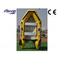 Buy cheap Durable Yellow PVC 6 Person Inflatable Boat Inflatable Fishing Boats from wholesalers