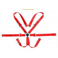 Quality 3 Inch 6 Point Removable Automobile Racing Safety Belts With Quick Release for sale