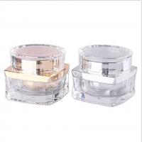 Quality Cosmetic Packaging New Style 30g Acrylic Plastic Cosmetic Cream Jar for sale