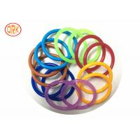 Quality AS568 Waterproof NBR O Ring Rubber , Colored Orings Excellent Air Tightness for sale