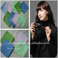 Quality soft  microfiber cleaning cloth for glass,LCD,camera for sale