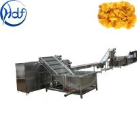 Quality Large Scale Frozen French Fries Production Line High Automatic 1000kgh Capacity for sale