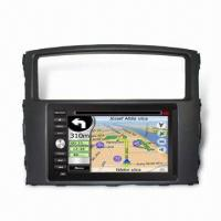 Quality GPS Car Navigation for Mitsubishi Pajero, with GPS and DVD Functions for sale