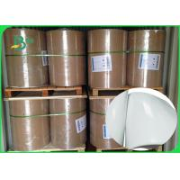 China Shiny Offset Glossy Coated Paper / Couche Paper 90GSM 100GSM Size 90 * 64CM on sale
