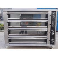Quality Four Deck Cake Baking Equipment  , Electric Oven For Baking Bread for sale