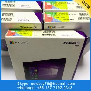 Quality Online Activation Windows 10 Pro OEM Key Microsoft COA License Sticker for sale