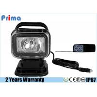 Quality Remote Control HID Search Lights With HID Ballast 35 / 55W Power 12 / 24 Voltage for sale