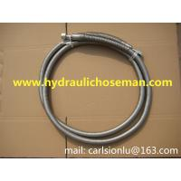 """Quality 1"""" low temperature LNG 304 stainless steel flexible hose / LNG Low Temperature Helic or Annular Type Metal Hose for sale"""
