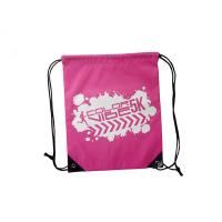 Quality Promotional Sports Backpack Polyester Drawstring , Sports Travel Backpack for sale