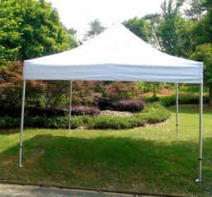 Quality White Backyard Gazebo Tent UV Resistant For Beach / Backyard Camping Parties for sale
