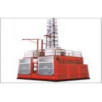 Quality Twin Cage Construction Material Hoist for sale