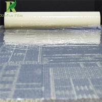 Quality 0.055-0.2mm Clear Transparent Adhesive Customized Carpet Protector Film Roll for sale