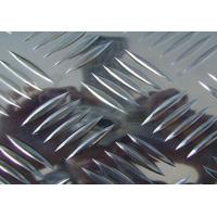 Quality 5 bars 1060 aluminum tread plate for truck flooring manufacture for sale