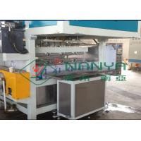 Quality Recycling Paper Double Roller Egg Carton / Egg Tray Pulp Moulded Machine 1 Year Warranty for sale
