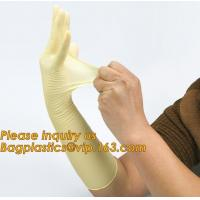 Buy Disposable medical surgical latex examination gloves with cheap price,manufacturer non sterile medical examination latex at wholesale prices