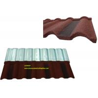 Quality Roman Tile Coloured Corrugated Roofing Sheets For Building Material for sale