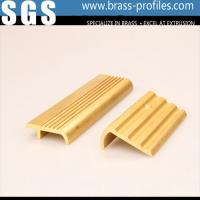 Quality Metal Stair Edge Nosing Sheet Copper Alloy Stair Strip for Floor Edge for sale