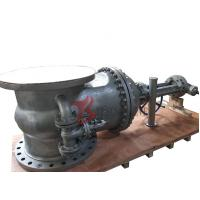 Quality DN800 Cast Steel Gate Valve WCB PN25 13CR Trim 32 Inch Rising Stem With Bypass Valve Z540 for sale