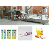 Quality Horizontal SS304 80pcs/Min effervescent Tablet Tube Filling and packing Machine for sale
