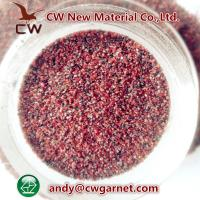 Quality Blasting abrasive garnet sand for sale