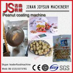 China Spiced Almond , Flavor Cashew Nut Peanut Coating Machine Electric on sale