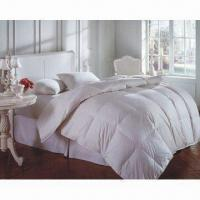 Quality Quilt with Baffle Box Sewing and Self Piping, Made of 300TC Fabrics for sale