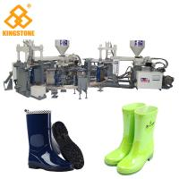 Quality Automatic Rain Shoes Making Machine Production Line , Rotary Injection Molding Machine for sale
