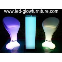 Quality Modern Glowing night club bar stools , High led cocktail bar counter furniture for sale