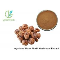 China Health Supplement Herbal Plant Extract Agaricus Blazei Murill Mushroom Extract Powder on sale