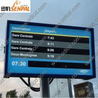 Quality outdoor advertising lcd display screen prices for sale