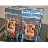 Quality Front Clear / Back Silver Spices Packaging Bags Stand Up with Zip Lock for sale