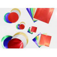 Quality Gummed Paper Combined With Squares And Circles, Pack of 150, Multi Colours for sale