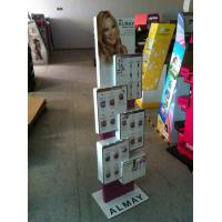 Quality OEM Acrylic Pop Display Retail Cosmetic Counter Stand with Printings for sale