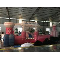 Buy cheap Cute short inflatable jumping castle for kids big square shape inflatable from wholesalers