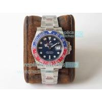 Quality GMF Rolex GMT-Master II Pepsi 126710BLRO 904L SS Watch Swiss ETA2836 for sale
