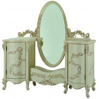 White dressing table mirror white dressing table mirror for Cheap antique style mirrors