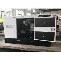 Quality 4 Cylinder Cummins Diesel Generator Set 100L Fuel Tank Electrical Governor for sale
